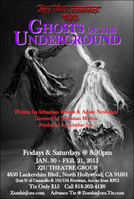 Live Performance -- Theater -- Ghosts Of The Underground